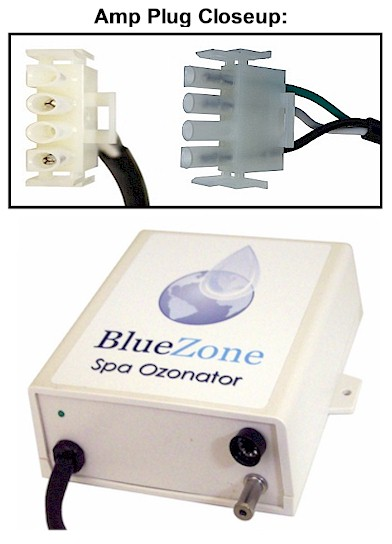 BlueZone Ozonator with Amp Plug