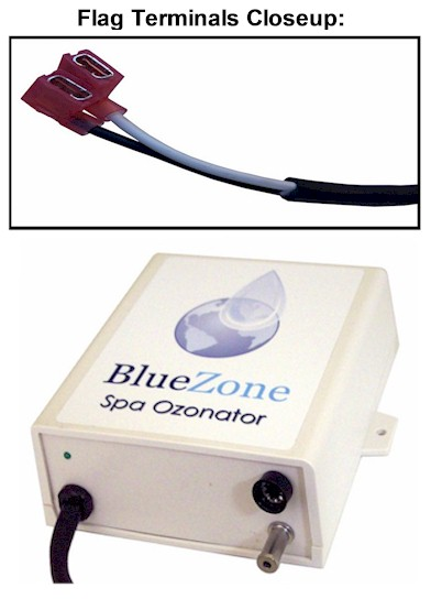 BlueZone Ozonator with Flag Terminals