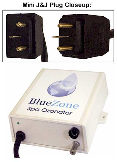 BlueZone Ozonator with Mini J&J Plug