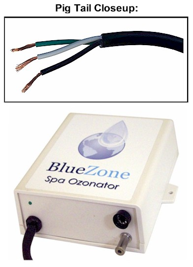 BlueZone Ozonator with Pig Tail