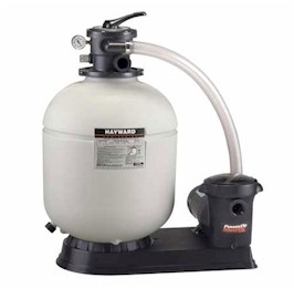 Hayward 16 inch Pro-Series Sand Filter with 1 HP Matrix Pump