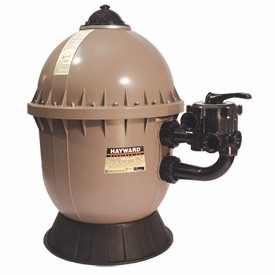Hayward S200 Series Sand Filter with Multi-Port 6-way Side Mount Valve