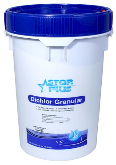 Star Plus Dichlor Granular Bucket 50 lbs