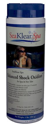 Sea-Klear Spa Balanced Shock Oxidizer  2 lb