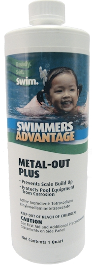 Swimmers Advantage Metal-Out Plus 1 quart