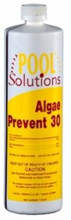Pool Solutions Algae Prevent 30, Pool Solutions Algae Prevent 60