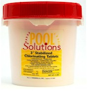 Pool Solutions 3 inch Chlorine Tablets 5 lbs