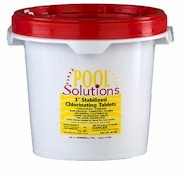 Pool Solutions 3 inch Chlorine Tablets 10 lbs