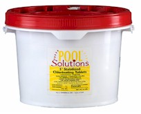 Pool Solutions 3 inch Chlorine Tablets 25 lbs