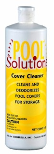 Pool Solutions Cover Cleaner, Pool Solutions Floc N Vac, Pool Solutions Sand-Aid Filter Aid, Rainbow Spa Mini Vacuum