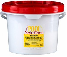 Pool Solutions Chlorinating Granules 25 lbs