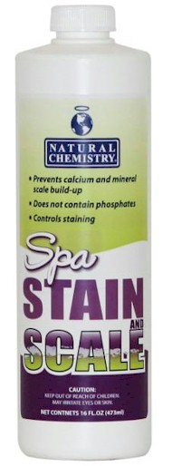 Natural Chemistry Spa Stain & Scale  1 Liter